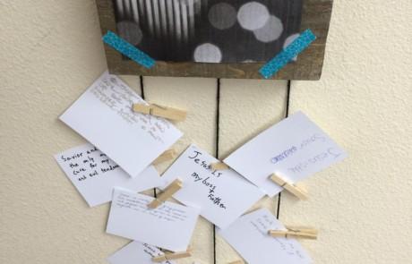 Student Worship Response Station 7