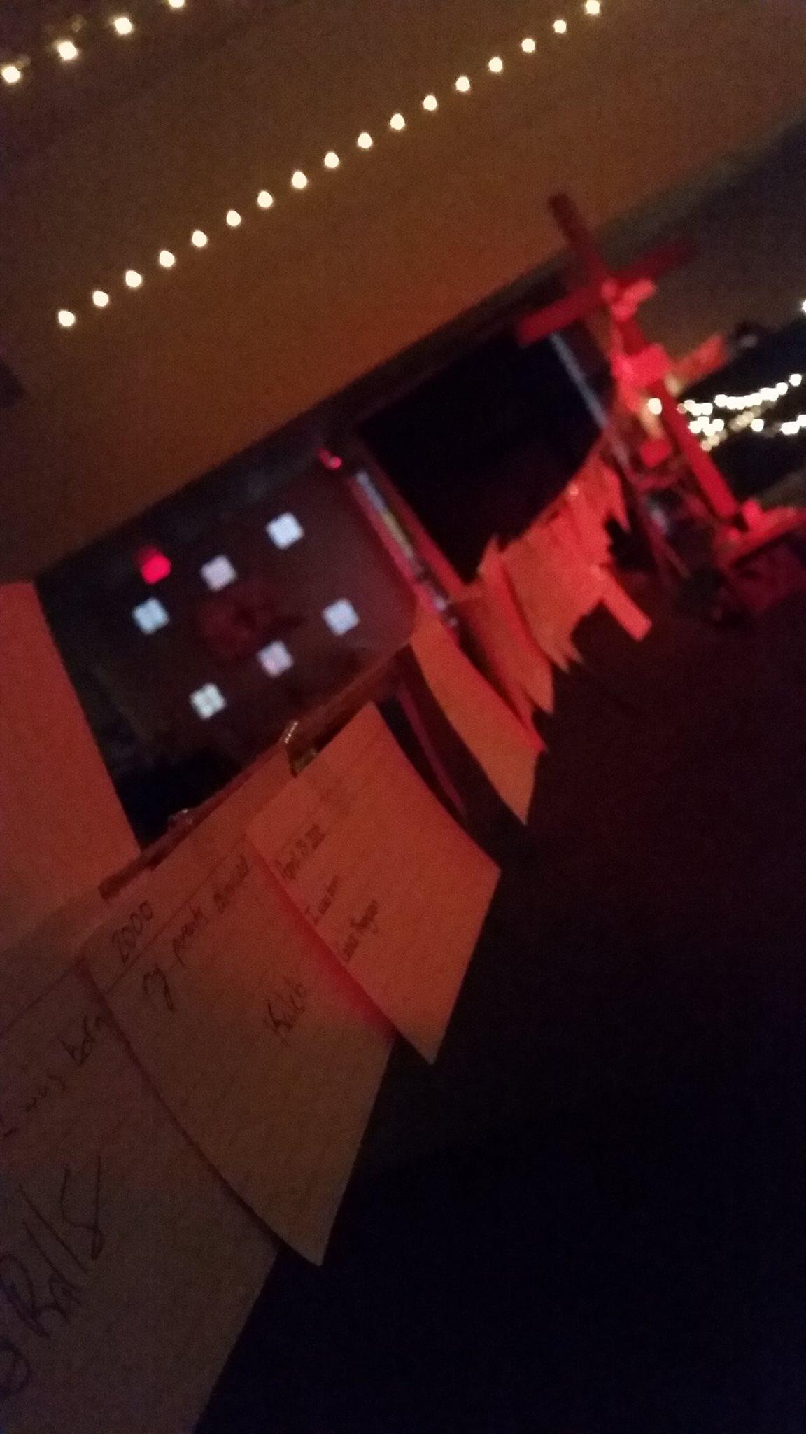 Student Worship Response Station 14